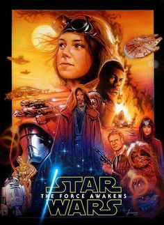 This Drew Struzan Inspired Fan Poster For STAR WARS: THE FORCE AWAKENS Is Awesome | Alien Bee Entertainment News