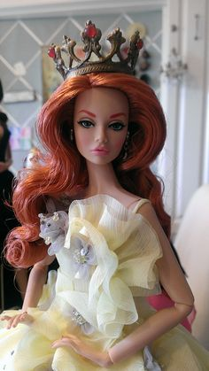 Worshop Poppy in Gala Gown closeup by think_pink1265, via Flickr