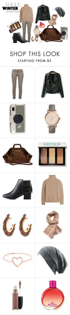 """""""Winter Essentials"""" by krissel1 on Polyvore featuring Pierre Balmain, Kate Spade, FOSSIL, Mulberry, Bobbi Brown Cosmetics, City Classified, Totême, Brunello Cucinelli, Love Is y MAC Cosmetics"""