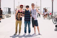 Connor Franta, Jc Caylen + Ricky Dillon | Our Second Life. I bet you didn't know that Ricky Dillon, and Connor Franta have a shopping addiction. I love them.