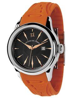 Relojes Officina del Tempo > Reloj Safi Gel Naranja. http://www.tutunca.es/reloj-safi-gel-naranja