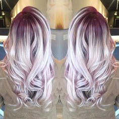 {#VPInspiration} @rachelcskipper✨ 'iridescent berry #rootyblonde from the other day! adding a root shadow to your existing blonde in either a natural or vibrant shade' ✨ ----- Stay tuned for the coming #Valentine #Giveaway tomorrow ----- #haircolor #inspiration #dyedhair #hairstylist #beautiful #awesome #tagsforlikes #hairstyles #instagood #love #hairoftheday