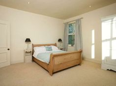 Spacious, neutral bedroom #Yorkshirepropertyoftheweek