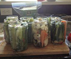 Canning Any Veggie Dill Pickles, www.mountainmamacooks.com