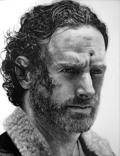 Rick Grimes Drawing - The Walking Dead by Names76 on DeviantArt