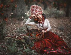 Matrioshka by Margarita Kareva - Photo 129062565 - Fantasy Photography, Creative Photography, Fashion Photography, Russian Beauty, Russian Fashion, Folk Fashion, Ethnic Fashion, Style Outfits, Boho Outfits