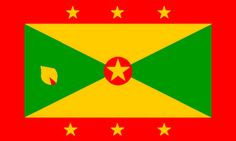 Grenada's Flag♦️More Pins Like This At FOSTERGINGER @ Pinterest ♦️