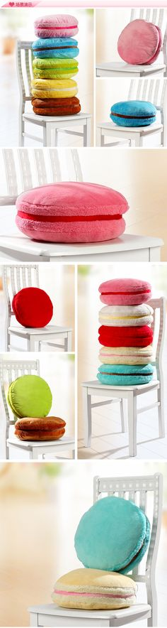 2014 new Hot selling Macaron shape cushion round cake pillow Sofa Decoration Home Decor Wedding Gifts Christmas girlfriend Gift-inCushion from Home & Garden on Aliexpress.com | Alibaba Group