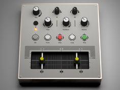 Custom MIDI Controller (Copper) by Jure Verč on Dribbble Copper, Projects, Design, Log Projects, Blue Prints, Brass