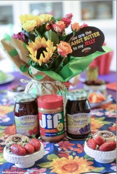 Hosting a fun kids party is not complete without yummy food and for me PB&J is a great food for kids party and it's best with Smuckers and Jif! Join our giveaway for a chance to win Smuckers gift pack!  #MyPBJMoment AD