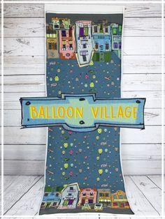 Stenzo Jersey Balloon Village - petrol Ökotex City
