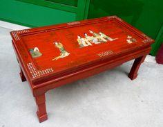 Tavolo mezzaluna ~ Tavolo scrittoio rustico in larice e pioppo con cassetto piemonte