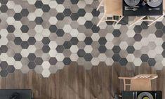 Image result for hexagon floor tiles