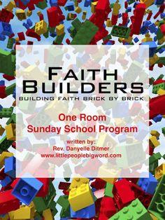 Faith Builders -- Lego Lesson Plans
