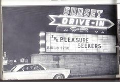 Sunset Drive-In, Morristown, TN Spent lots of evenings here in Morristown Tennessee, Morristown Tn, Hawkins County Tn, Old Pictures, Old Photos, Drive In Theater, East Tennessee, My Roots, Interesting History