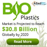 World Bioplastics Market: https://www.alliedmarketresearch.com/bioplastics-market