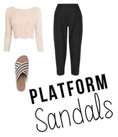 """""""little"""" by laura23456 ❤ liked on Polyvore featuring Coast, DKNY and Lands' End"""