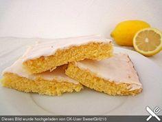Schneller Zitronenkuchen auf dem Blech (Rezept mit Bild) | Chefkoch.de