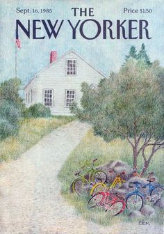 1985 The New Yorker cover