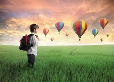 Hot Air Balloon Ride: A Guided meditation for Kids, Children's  Visualization for sleep.