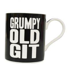 Grumpy Old Git - China gift boxed funky mug. Part of Leonardo's Words of Wisdom range.