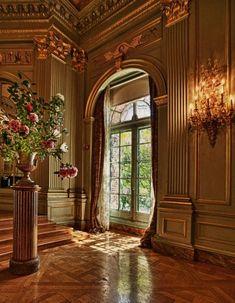 San Francisco Filoli estate – Mansion Ballroom as decorated by the late Interior… - Architektur Luxury Home Decor, Luxury Interior, Home Interior Design, Interior And Exterior, Luxury Homes, Beautiful Architecture, Interior Architecture, Classical Architecture, Beautiful Interiors