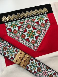 Made by Inger Johanne Wilde Hardanger Embroidery, Belts, Creative