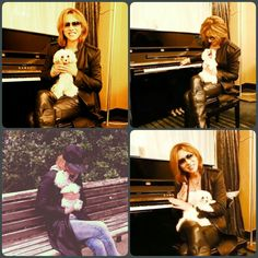 Yoshiki with melody Pete Burns, Gackt, Persona 5, Visual Kei, Hyde, Final Fantasy, My Idol, Music Videos, Japan