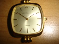 VINTAGE JULES JURGENSEN WATCH FACE PARTS