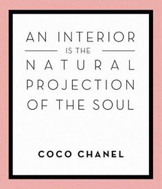 Who else agrees?! #inspo #quotes #interiors #chanel #inspiring #interiordesign