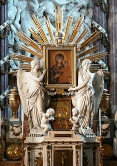 The high altar in the church of St Michael, Vienna.