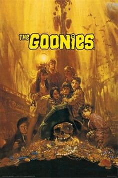 """Goonies POSTER """"Classic Movie, Brand, Mikey, Mouth, Data"""" BRAND NEW Licensed Art in Art, Posters 