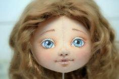 Роспись лица текстильной куклы (мастер-класс)