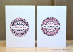 JanB Handmade Cards Atelier: Make a Medallion Optical Illusion