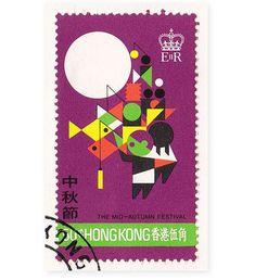hong kong festivals stamps