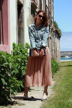 COMPARTE MI MODA: La moda femenina desde el punto de vista de las usuarias...: Vestido midi...