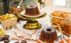 Honey Bundt Cake with Honey Caramel Glaze