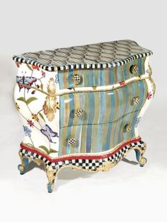 MacKenzie-Childs - Butterfly Accent Chest - Saks.com