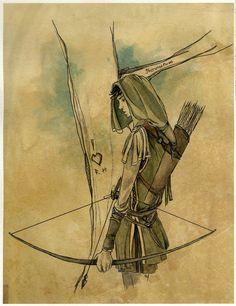 Robin Hood by LauraTolton on DeviantArt High Fantasy, Fantasy Art, Tim Burton, Character Concept, Character Design, Magia Elemental, Anime K, Robin Hood, Rangers Apprentice