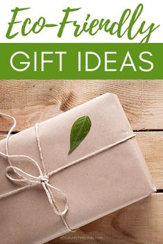 This Gift Guide Features Over 20 Sustainable and Eco-Friendly Gifts! These ethical gift ideas will help you shop for her, him, and anyone on your list. These gifts are perfect for birthdays, Christmas, wedding parties, Hanukkah, or any other special Holiday or Event. Affordable Eco Friendly Gifts | #Conscious #saveourplanet #ecofriendly