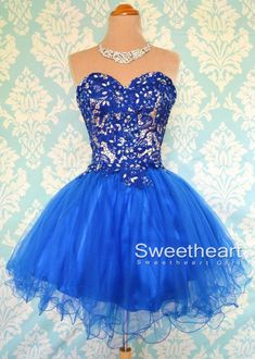 Short, Sweetheart, Strapless Prom Dress $142