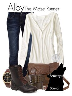 """Alby // Bethany"" by bethanybrooks ❤ liked on Polyvore"