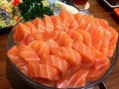 Sushi Recipes, Asian Recipes, Real Food Recipes, Yummy Food, Healthy Recipes, Tempura, Dessert Chef, Salmon Sashimi, Mochi