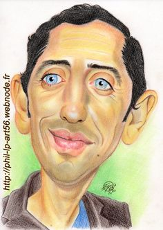 Gad Elmaleh, French Comedian, by PhilLP