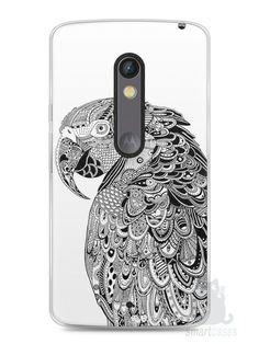 Capa Capinha Moto X Play Arara Artística - SmartCases - Acessórios para celulares e tablets :)