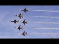 ▶ 2015 U.S.A.F. Thunderbirds - YouTube