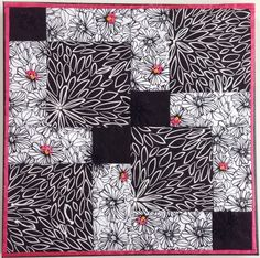 Small Quilt Mounted Wall Art by #StitchesnQuilts