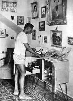 O Rei... Pongase um disco!  Pelé, 1960.