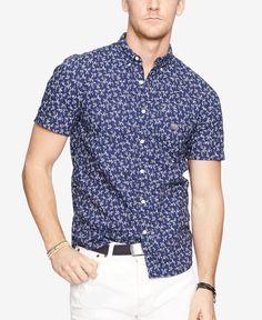 Denim & Supply Ralph Lauren Floral-Print Sport Shirt