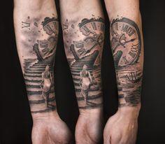 Treppe Tattoo